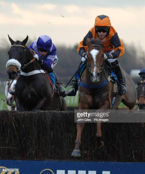 Tjade Collier and Flake win the Westwood Timber Fencing Handicap Chase at Catterick Racecourse