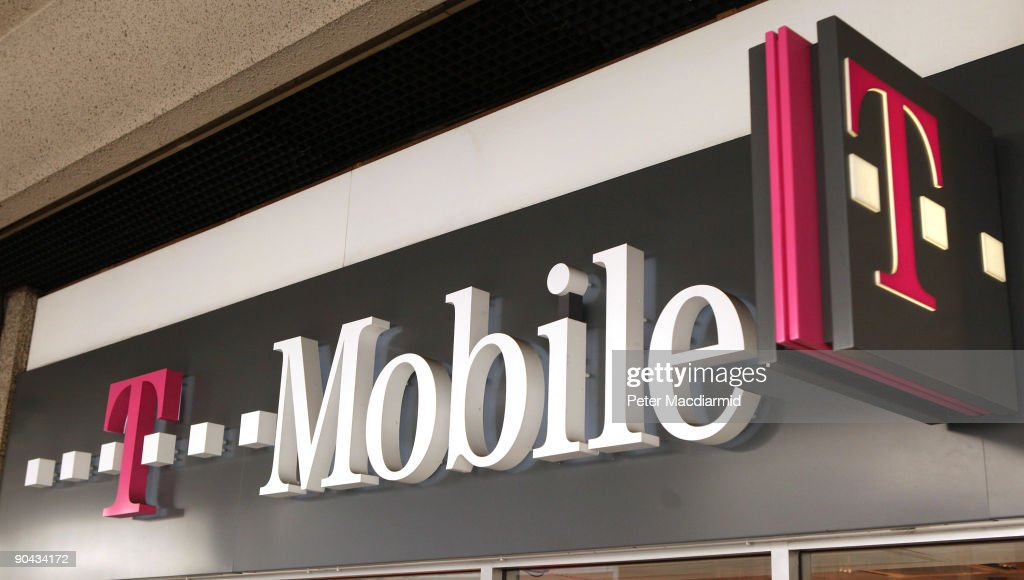 A T-Mobile shop in Victoria on September 8, 2009 in London, England. Mobile phone companies Orange and T-Mobile have anounced plans to merge their United Kingdom operations. This will create the UK's biggest mobile operator with a customer base of 28 million users.