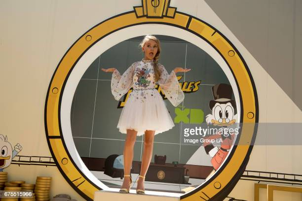 AWARDS To celebrate the highlyanticipated summer premiere of Disney XD's allnew 'DuckTales' Disney has created a lifesize version of Scrooge McDuck's...