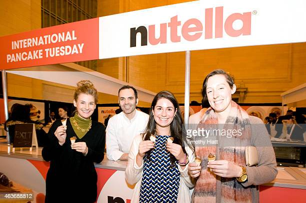 To celebrates Nutella's International Pancake Tuesday Nutella teamed up with Chef Dominique Ansel to create limited edition Nutella Pancake cone for...