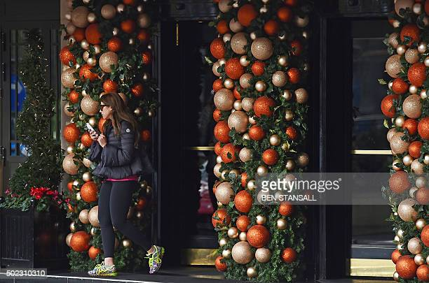 To go with BruneijusticereligionIslamrightsChristmasFEATURE This photo taken on December 22 2015 shows The Dorchester hotel in central London which...
