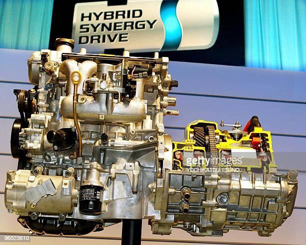 Fahrzeug mit hybrid antrieb illustrationen stock fotos und for Toyota motor company profile