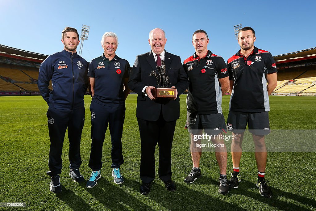 St Kilda Saints & Carlton Blues AFL Press Conference