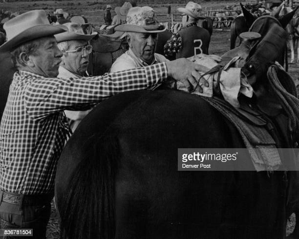Herbert Backer Denver Dr Leonard Becker Truth or Consequence RM Conrad Becker Lakewood The three Becker brothers saddle up for first days ride Credit...
