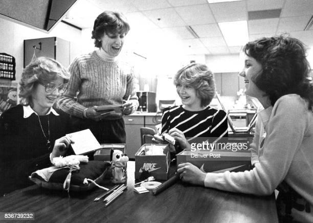 Jana Wagner Shrley Welch Teacher Gayle Myers Beth Rathwick Credit The Denver Post