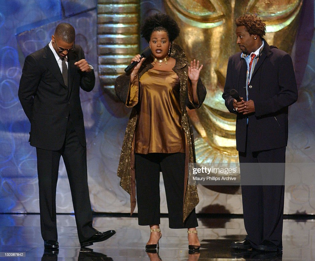 L to R, Shemar Moore, Jill Scott and Arsenio Hall served as co-hosts