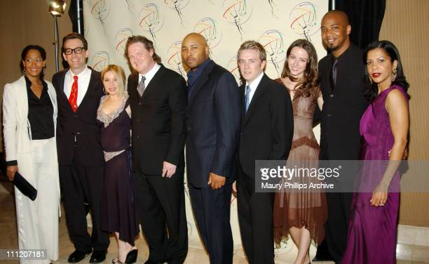L to R Tracee Eillis Ross Tom Kenny EG Daily Donal Logue Mathew St Patrick Tom Lenk Amy Acker J August Richards and Penny Johnson Jerald