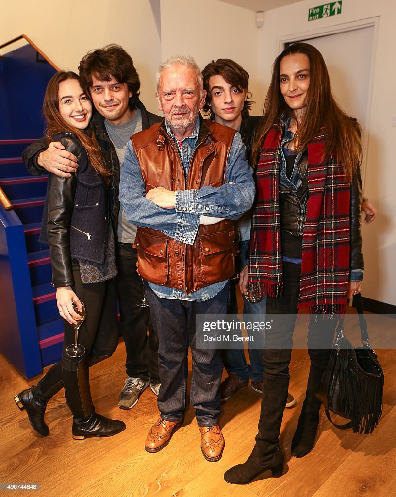 to Sarah Stanbury Fenton Bailey David Bailey Fenton Bailey and Catherine Bailey attend the launch of David Bailey's new book 'Tears And Tears' at the...