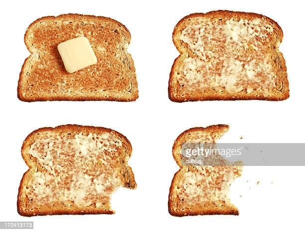 Toast sowie butter
