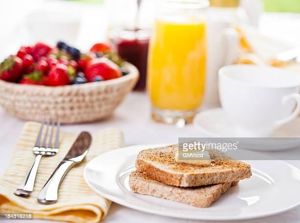 Toast für Frühstück