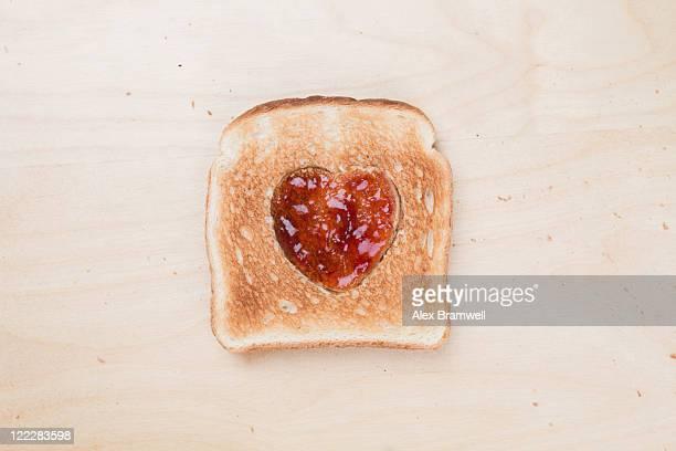 Toast heart