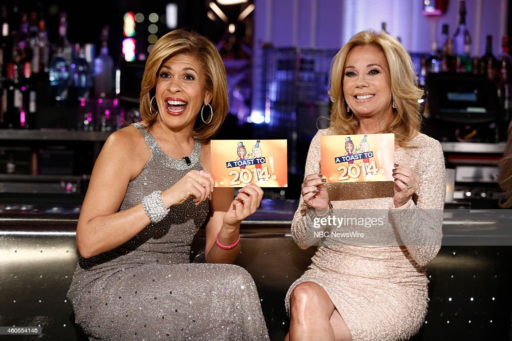 Toast to 2014!? Hosted by Kathie Lee Gifford and Hoda Kotb -- Pictured: (l-r) Hoda Kotb, Kathie Lee Gifford --