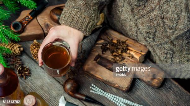 Tabac et brandy