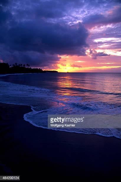 Tobago Buccoo Bay Sunset