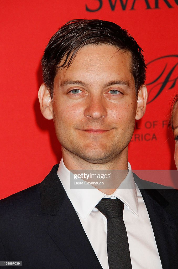 <a gi-track='captionPersonalityLinkClicked' href=/galleries/search?phrase=Tobey+Maguire&family=editorial&specificpeople=203015 ng-click='$event.stopPropagation()'>Tobey Maguire</a> attends the 2013 CFDA Fashion Awardson June 3, 2013 in New York, United States.