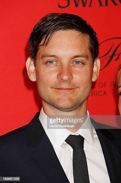 Tobey Maguire attends the 2013 CFDA Fashion Awardson June 3 2013 in New York United States