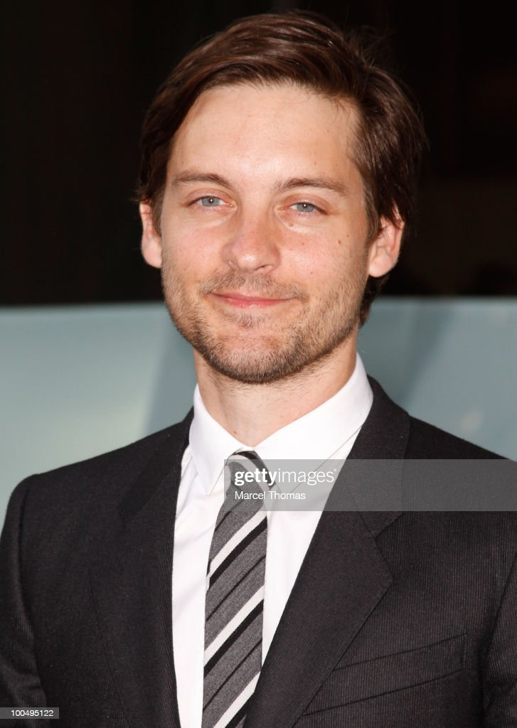 Tobey Maguire attends the The Film Society of Lincoln Center's 37th Annual Chaplin Award gala at Alice Tully Hall on May 24, 2010 in New York City.