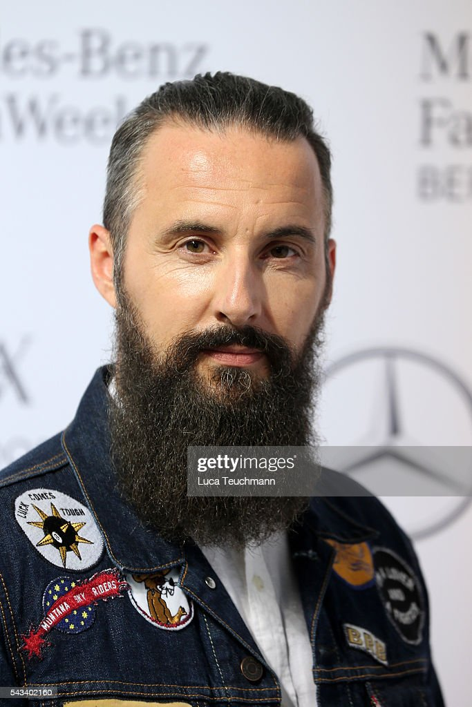 Tobias Bojko attends the Steinrohner show during the Mercedes-Benz Fashion Week Berlin Spring/Summer 2017 at Erika Hess Eisstadion on June 28, 2016 in Berlin, Germany.