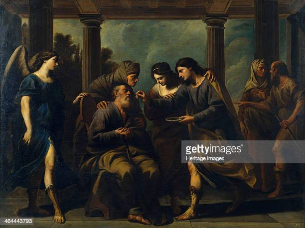 Tobias Healing His Father's Blindness c 1640 Found in the collection of the Museu Nacional d'Art de Catalunya Barcelona