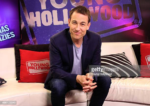 Tobias Menzies visits the Young Hollywood Studio on March 12 2015 in Los Angeles California