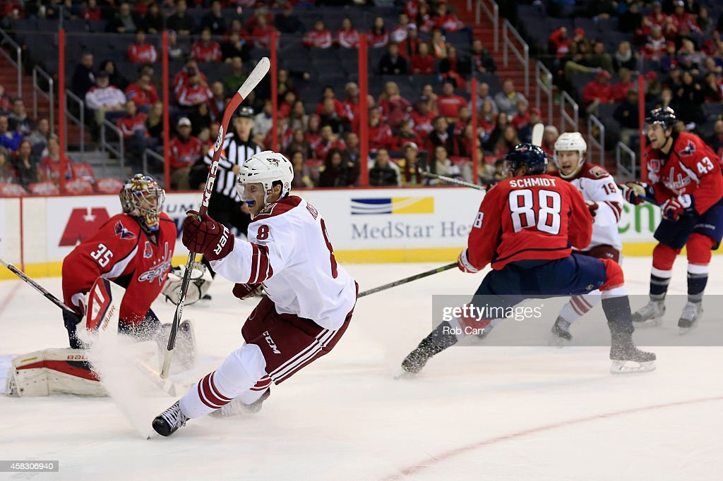 Arizona Coyotes v Washington Capitals