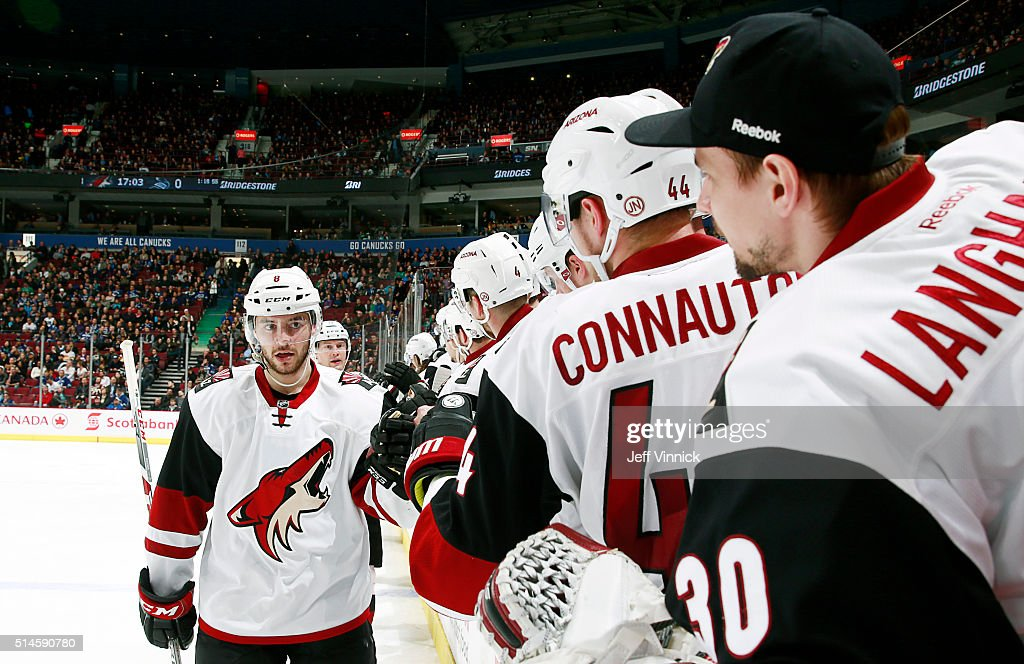 Arizona Coyotes v Vancouver Canucks