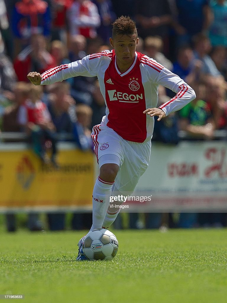 Tobias Sana of Ajax during the pre season friendly match between SDC Putten and Ajax on June 29, 2013 in Putten, The Netherlands.