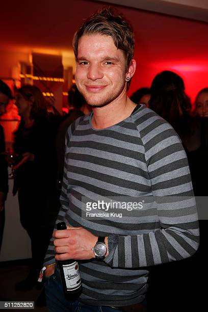 Tobias Schenke attends the 99FireFilmAward 2016 at Admiralspalast on February 18 2016 in Berlin Germany