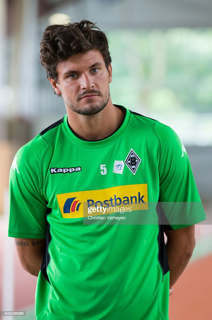 Tobias Strobl of Borussia Moenchengladbach during a Lactate Test in Duesseldorf on June 28, 2016 in Moenchengladbach, Germany.