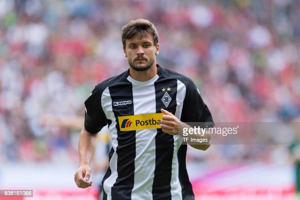 Tobias Strobl of Gladbach looks on during the Telekom Cup 2017 match between Borussia Moenchengladbach and Werder Bremen at on July 15 2017 in...