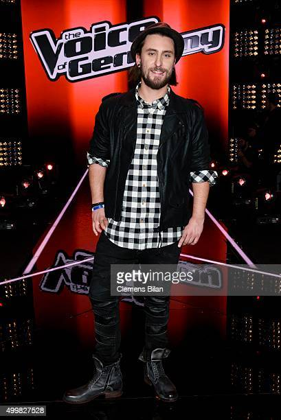 Tobias Vorwerk attends the The Voice Of Germany 1st Live Show on December 3 2015 in Berlin Germany