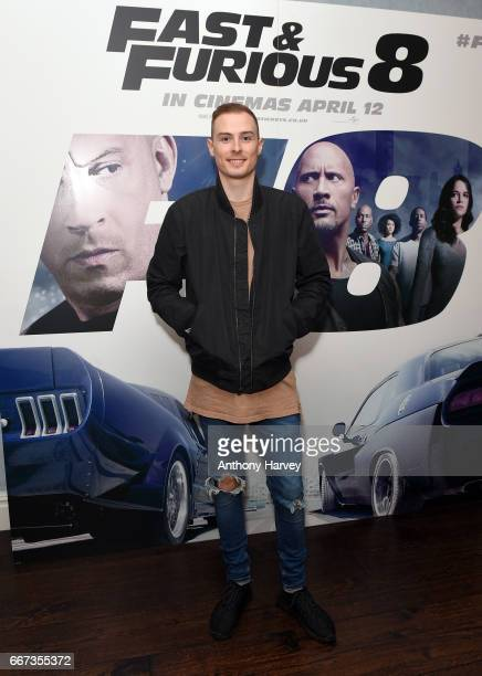 Tobiias attends a special screening of Fast Furious 8 at Soho Hotel on April 11 2017 in London England Fast Furious 8 will be released in cinemas on...