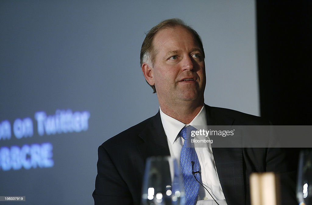 Tobin Cobb, co-chief executive officer of LNR Property LLC, speaks during a panel discussion at the Bloomberg Commercial Real Estate Conference in New York, U.S., on Tuesday, Nov. 13, 2012. The third Bloomberg Commercial Real Estate Conference will gather the most influential leaders in real estate to map out strategies for the coming year as well as explore the economic and political factors that have helped to drive a recovery. Photographer: Victor J. Blue/Bloomberg via Getty Images