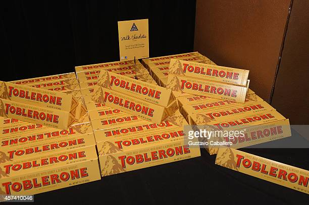 Toblerone on display at Extra Virgin Recipes Love From Our Tuscan Kitchen hosted by Debi Mazar and Gabriele Corcos as a part of the Bank of America...