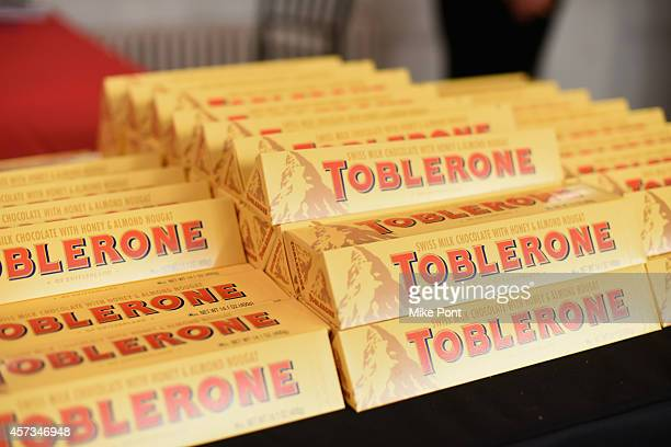 Toblerone on display at Tales of a Tuscan Butcher hosted by Dario Cecchini as a part of the Bank of America Dinner Series during the Food Network New...
