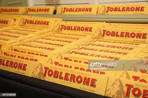 Toblerone on display at the Johnny Sanchez Dinner hosted by John Besh Aaron Sanchez and Katy Sparks as a part of the Bank of America Dinner Series...