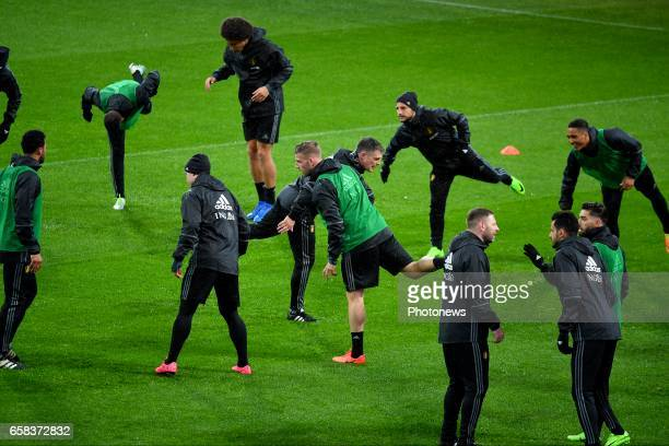 Toby Alderweireld defender of Belgium during a training session before the International Friendly Match prior to the FIFA World Cup 2018 in Russia...
