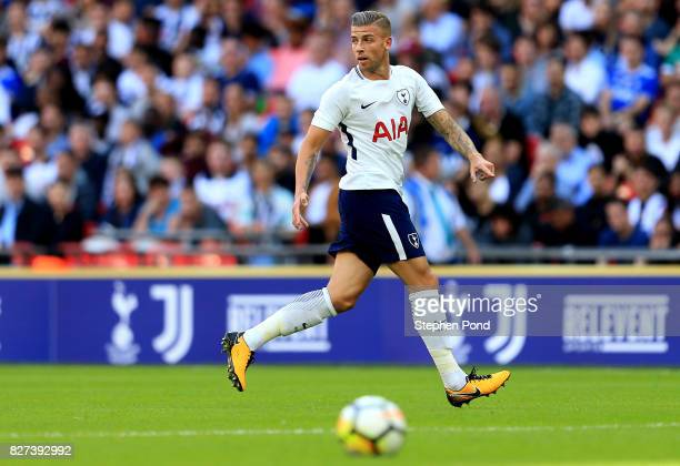 Toby Alderweireld of Tottenham Hotspur during the PreSeason Friendly match between Tottenham Hotspur and Juventus on August 5 2017 in London England
