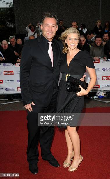 Toby Anstis and Lily Brazier arrive for the Pride of Britain Awards at the London Television Centre Upper Ground SE1