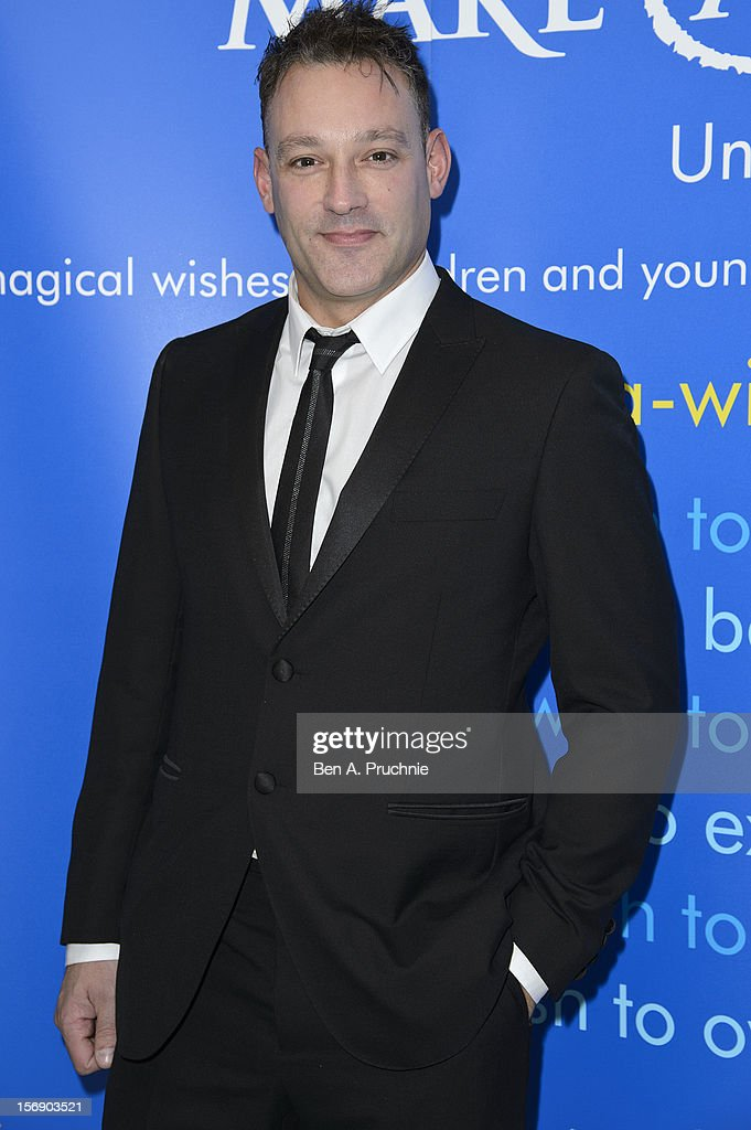 Toby Anstis attends Make-A-Wish Foundation UK Winter Ball 2012 held at The Dorchester on November 24, 2012 in London, England.