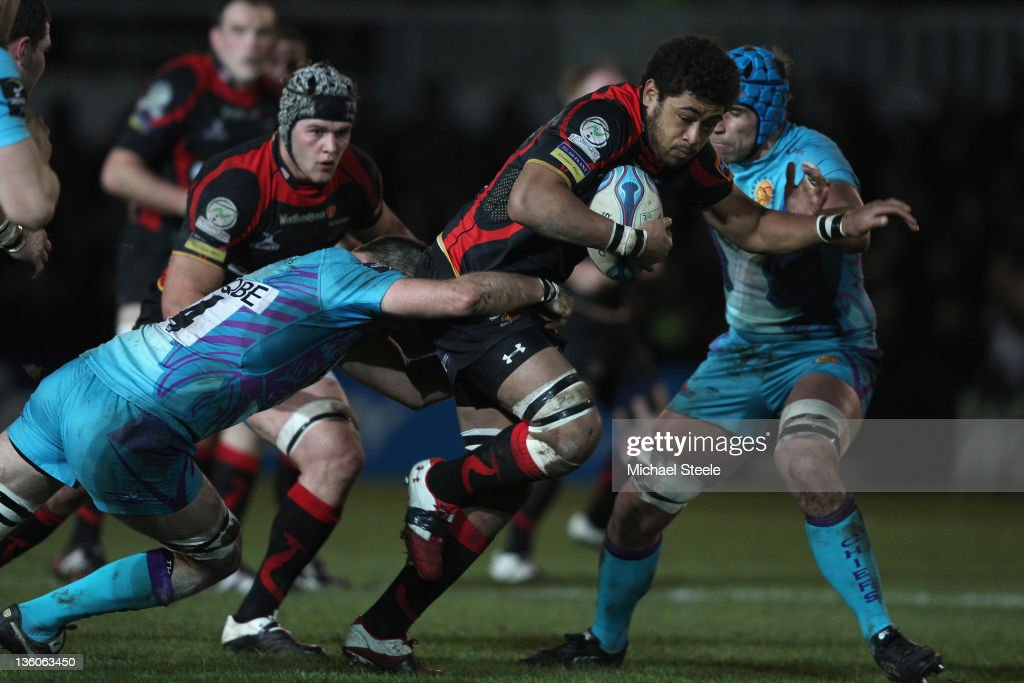 Newport Gwent Dragons v Exeter Chiefs - Amlin Challenge Cup