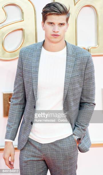 Toby Huntington Whiteley attends the UK premiere of 'Kingsman The Golden Circle' at Odeon Leicester Square on September 18 2017 in London England