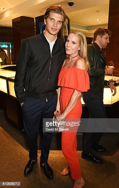 Toby HuntingtonWhiteley and Alice NaylorLeyland attend the Tiffany Co and GQ Style celebration of the Autumn/Winter issue of GQ Style and the iconic...