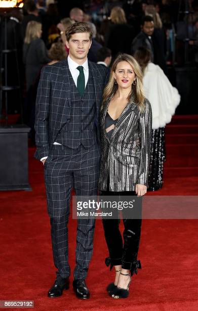 Toby HuntingtonWhiteley and Cicely Brown attend the 'Murder On The Orient Express' World Premiere at Royal Albert Hall on November 2 2017 in London...