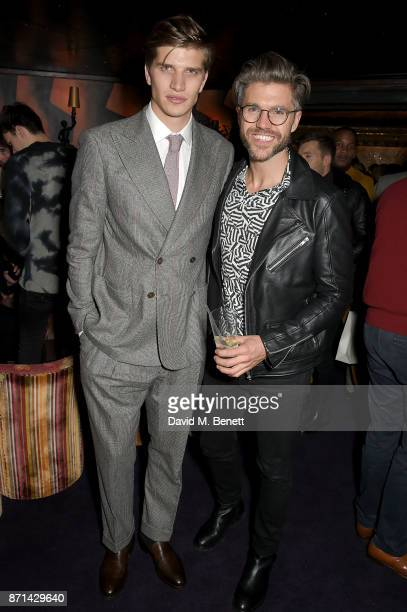 Toby HuntingtonWhiteley and Darren Kennedy attend the Richard James 25th Anniversary event hosted by Richard James Charles S Cohen and Sean Dixon at...
