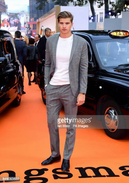 Toby HuntingtonWhiteley attending the World Premiere of Kingsman The Golden Circle at Cineworld in Leicester Square London Picture Date Monday 18...