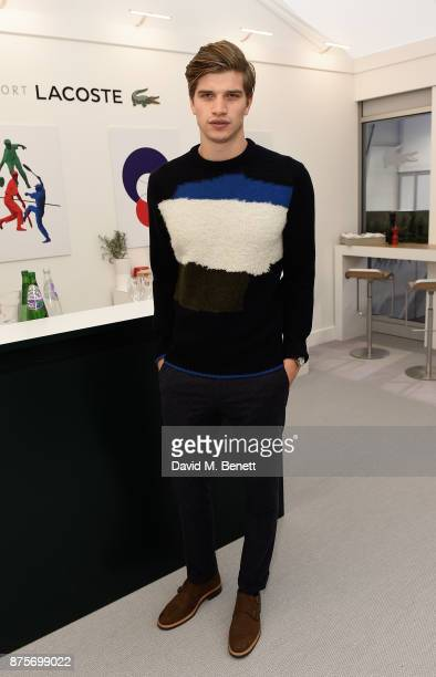 Toby HuntingtonWhiteley attends Lacoste VIP Lounge during 2017 ATP World Tour Semi Finals at The O2 Arena on November 18 2017 in London England