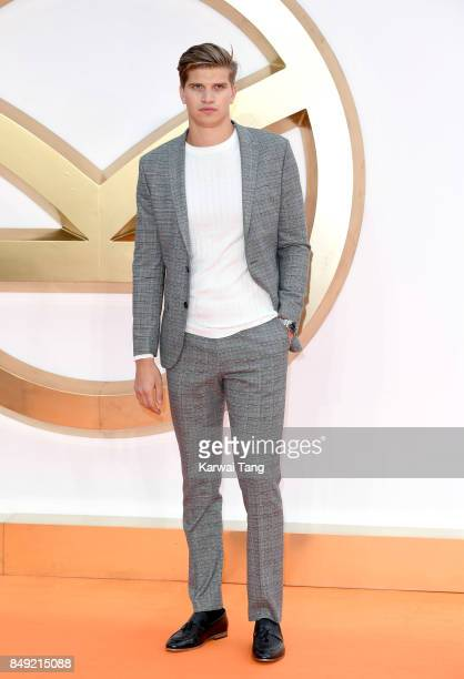 Toby HuntingtonWhiteley attends the 'Kingsman The Golden Circle' World Premiere at Odeon Leicester Square on September 18 2017 in London England