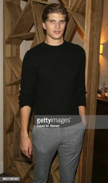 Toby HuntingtonWhiteley attends the launch of The Great Eight Guacamoles London's first Guacamoles and Tequila Bar at Cantina Laredo on October 11...