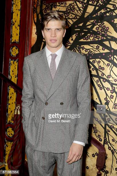 Toby HuntingtonWhiteley attends the Richard James 25th Anniversary event hosted by Richard James Charles S Cohen and Sean Dixon at Loulou's on...